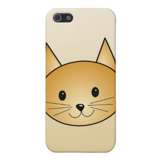 Cat. Cute ginger kitty. iPhone 5/5S Cases