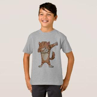 Cat Dabbing Hip Hop Pose Graphic design, Premium Q T-Shirt