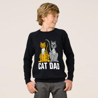 CAT DAD black t-shirts