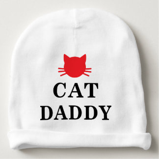 Cat Daddy Baby Cotton Beanie Baby Beanie