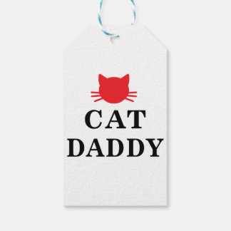 Cat Daddy Gift Tags