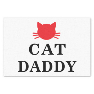 Cat Daddy  Tissue Paper