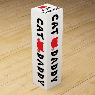 Cat Daddy Wine Gift Box