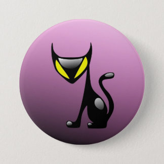 Cat Demon Button