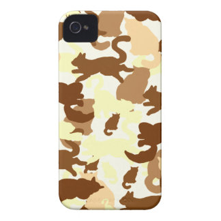 cat desert silhouette Case-Mate iPhone 4 case