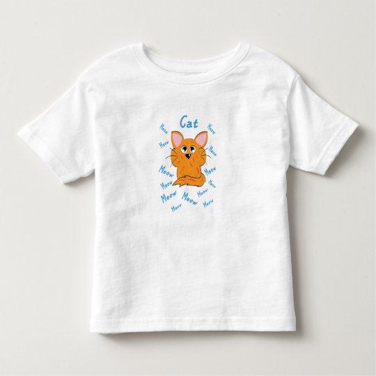 Cat design toddler T-Shirt