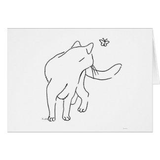 Cat Designs.jpg Greeting Card
