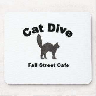 Cat Dive Mouse Pad