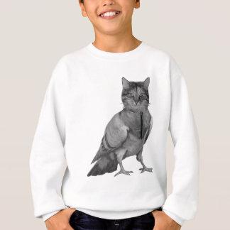Cat Doing Bird Sweatshirt