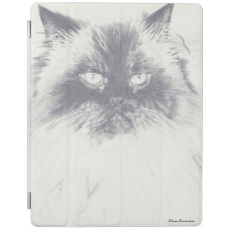 Cat Drawing iPad Case iPad Cover