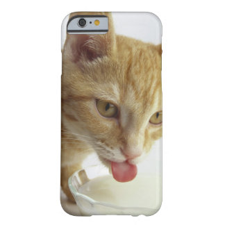 Cat drinking milk barely there iPhone 6 case