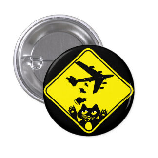 Cat Droppings by Mudge Studios 3 Cm Round Badge