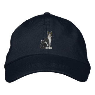 Cat Embroidered Hats