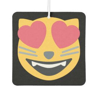 Cat Emoji Car Air Freshener