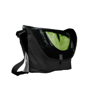 Cat eye courier bag