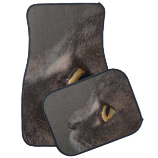 Cat Eye-Macro by Shirley Taylor Car Mat