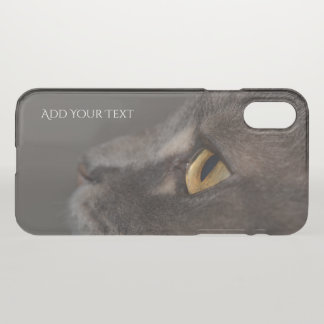 Cat Eye-Macro by Shirley Taylor iPhone X Case