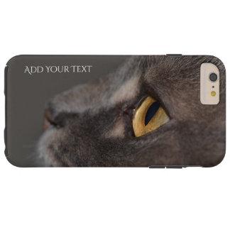 Cat Eye-Macro by Shirley Taylor Tough iPhone 6 Plus Case