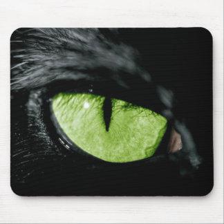 Cat eye mouse mat