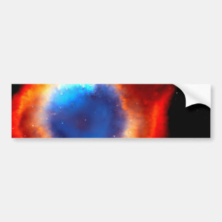 cat eye nebula car bumper sticker