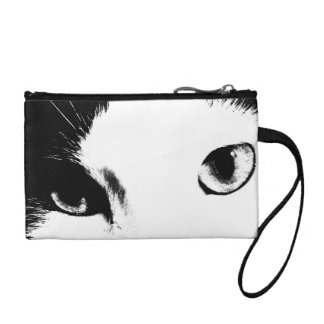Cat Eyes (Black and White) Coin Wallets