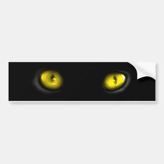 Cat Eyes Bumper Stickers