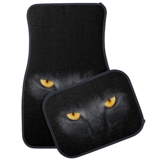 Cat Eyes Car Mat Full Set