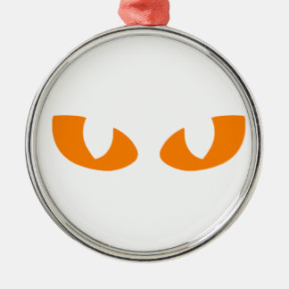 Cat Eyes Christmas Ornament