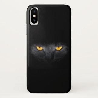 Cat Eyes iPhone X Case