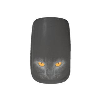 Cat Eyes Minx Nails Nail Art