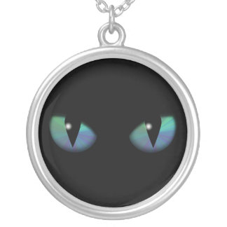 Cat Eyes Personalized Necklace