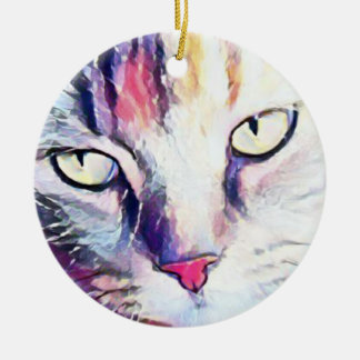 Cat eyes ornament