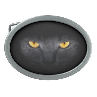 Cat Eyes Oval Belt Buckle
