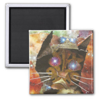 Cat Eyes Square Magnet