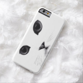 Cat Face Classic Features Barely There iPhone 6 Case