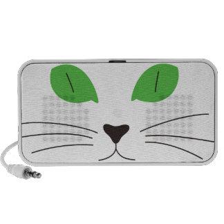 Cat Face Laptop Speakers
