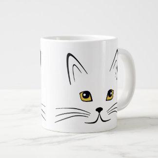 Cat Face Large Coffee Mug
