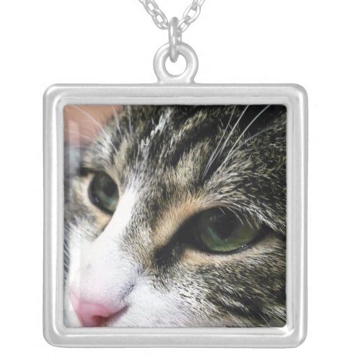 Cat Face Necklace