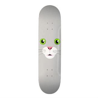 Cat Face Skateboard