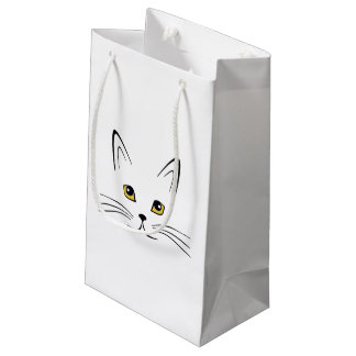Cat Face Small Gift Bag
