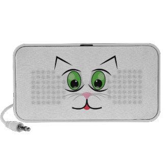 Cat Face iPhone Speaker