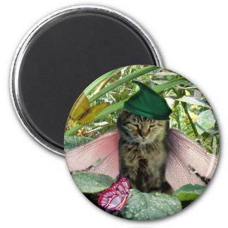 Cat Fairy Elf Magnet