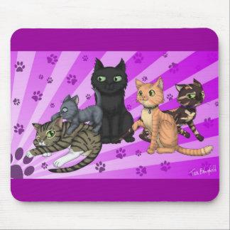 Cat Family Mousemat