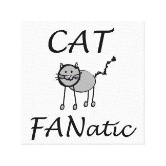 Cat Fanatic Canvas Print