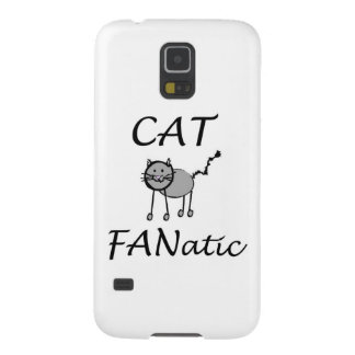 Cat Fanatic Cases For Galaxy S5