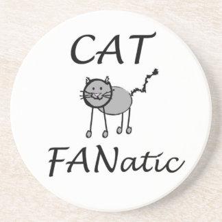 Cat Fanatic Coaster