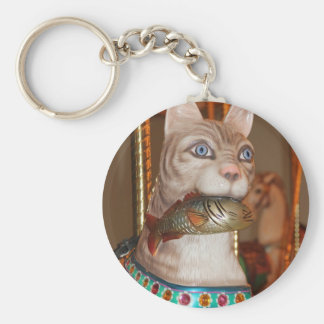 Cat Fancy Multiple Products Basic Round Button Key Ring