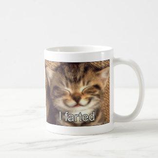 cat fart mug