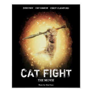 Cat Fight movie Poster