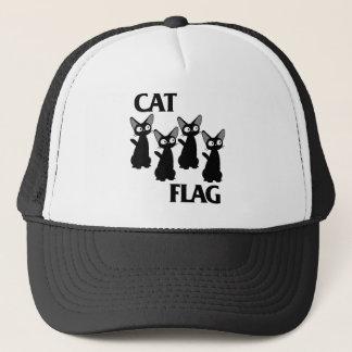 CAT FLAG 2 TRUCKER HAT